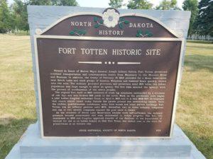 Ft Totten entrance plaque