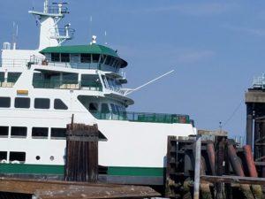 Ferry Arriving in Everett